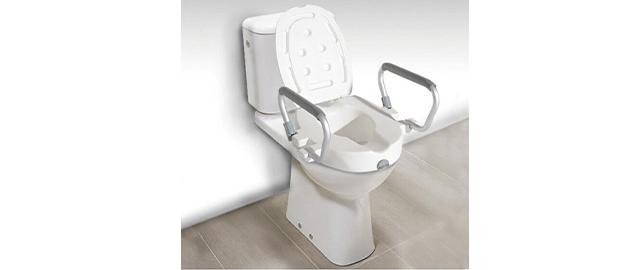 Sedile Wc Rialzato Per Disabili.Rialzo Per Wc Universale Disabili E Anziani Migliori Sanitari Online