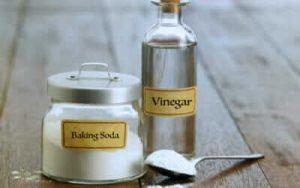 bicarbonato e aceto