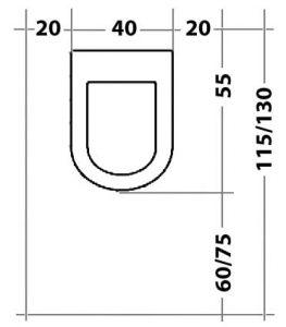 distanza tra bidet e vaso