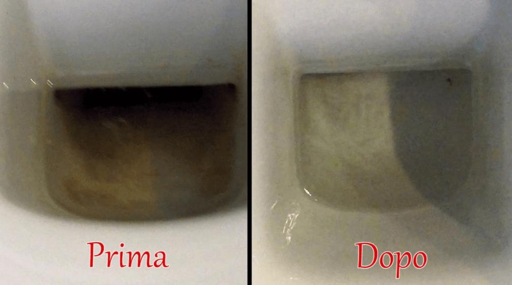 Come togliere e pulire il nero dal fondo del water
