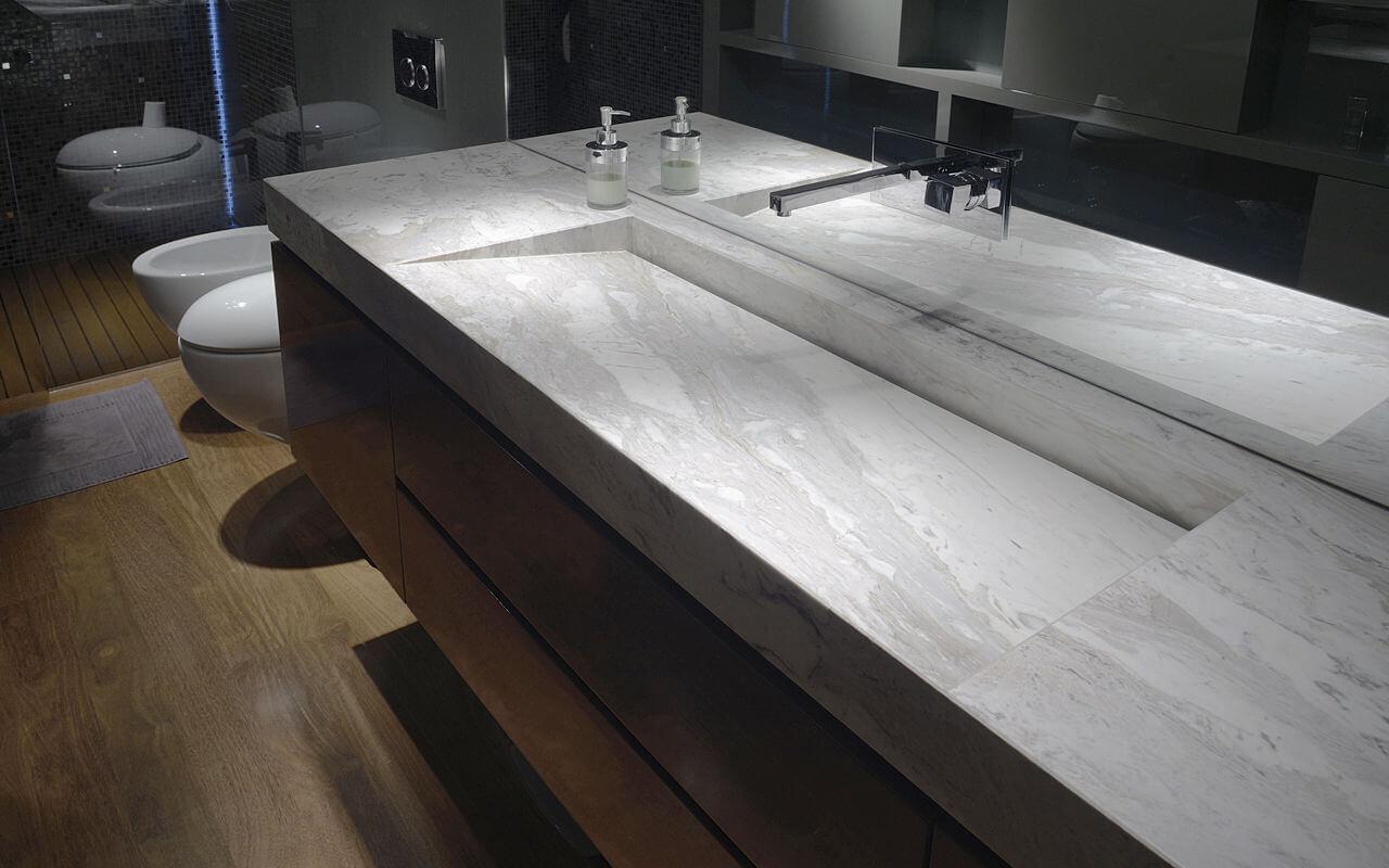 Lavabo in Pietra Naturale marmo