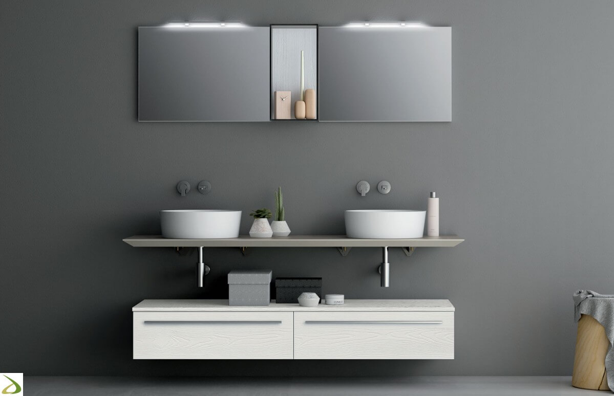 Lavabi e lavandini bagno doppi prezzi e recensioni for Prezzi lavabo bagno